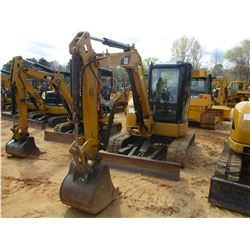 "2008 CAT 304C CR MINI EXCAVATOR, VIN/SN:FPK03556 - 5' STICK, 24"" BUCKET, HYD THUMB, AUX HYD, BLADE,"