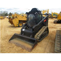 2015 CAT 299D2 XHP SKID STEER LOADER, VIN/SN:PDX200280 - CRAWLER, GP BUCKET, ECAB W/AIR