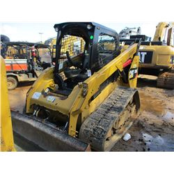 2014 CAT 289D SKID STEER LOADER, VIN/SN:TAW00972 - CRAWLER, HIGH FLOW, GP BUCKET, CANOPY, METER READ