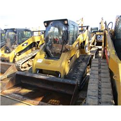 CAT 289C HIGH FLOW XPS SKID STEER LOADER, VIN/SN:RTD01812 - CRAWLER, GP BUCKET, ECAB W/AIR, 2 SPD, M