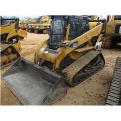 2005 CAT 287B SKID STEER LOADER, VIN/SN:ZSA02189 - GP BUCKET, HIGH FLOW XPS, ECAB W/AIR, METER READI