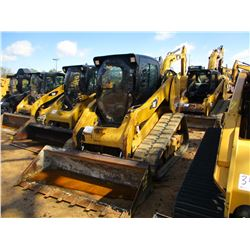 2012 CAT 279C SKID STEER LOADER, VIN/SN:MBT03096 - CRAWLER, GP BUCKET, ECAB W/AIR, METER READING 3,1