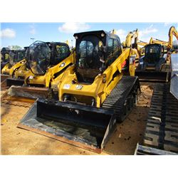 2015 CAT 277D SKID STEER LOADER, VIN/SN:FMT00647 - CRAWLER, HIGH FLOW, GP BUCKET, WCAB W/AIR, METER