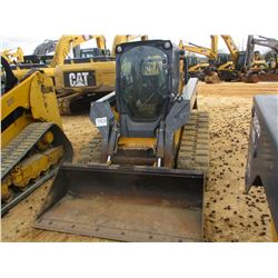 2010 JOHN DEERE 333D SKID STEER LOADER, VIN/SN:188789 - CRAWLER, GP BUCKET, ECAB W/AIR, METER READIN