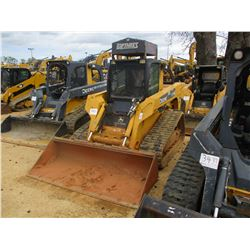2008 JOHN DEERE CT332 SKID STEER LOADER, VIN/SN:168502 - CRAWLER, GP BUCKET, HIGH FLOW, ECAB W/AIR,