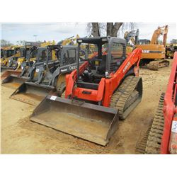 2013 KUBOTA SVL90-2 SKID STEER LOADER, VIN/SN:10237 - CRAWLER, GP BUCKET, CANOPY, METER READING 1,68