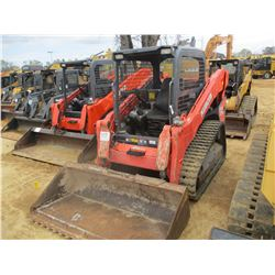 2013 KUBOTA SVL75-2 SKID STEER LOADER, VIN/SN:20815 - CRAWLER, GP BUCKET, CANOPY, METER READING 1,88