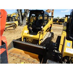 2015 CAT 259D SKID STEER LOADER, VIN/SN:FTL02876 - CRAWLER, HIGH FLOW, GP BUCKET, TWO SPEED, CANOPY,