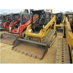 2014 CAT 259D SKID STEER LOADER, VIN/SN:FTL01191 - CRAWLER, HIGH FLOW, GP BUCKET, TWO SPEED, CANOPY,