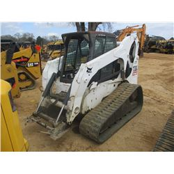 2007 BOBCAT T300 SKID STEER LOADER, VIN/SN:532015604 - CRAWLER, ECAB W/AIR, METER READING 2,608 HOUR
