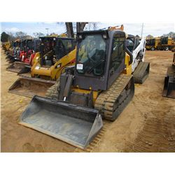 2013 VOLVO MCT125C SKID STEER LOADER, VIN/SN:641368 - CRAWLER, HIGH FLOW, GP BUCKET, ECAB W/AIR, MET