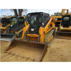 2014 MUSTANG SKID STEER LOADER, VIN/SN:80142 - CRAWLER, HIGH FLOW, GP BUCKET, TWO SPEED, ECAB W/AIR,