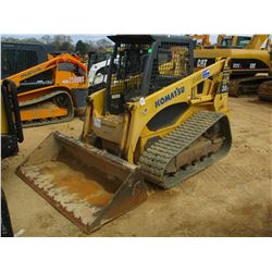 2006 KOMATSU CK30-1 SKID STEER LOADER, VIN/SN:A30021 - CRAWLER, GP BUCKET, CANOPY, METER READING 1,8