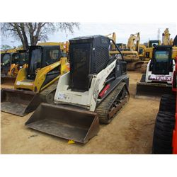 2010 TEREX PT-100 SKID STEER LOADER, VIN/SN:DTJ04222 - CRAWLER, FORESTRY PKG, GP BUCKET, ECAB W/AIR,