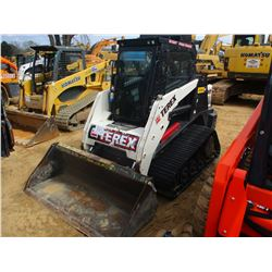 2014 TEREX R190T SKID STEER LOADER, VIN/SN:4WS00345 - CRAWLER, GP BUCKET, ECAB W/AIR, JOYSTICK CONTR