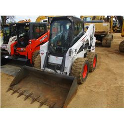 2016 BOBCAT S650 SKID STEER LOADER, VIN/SN:ALJ815527 - WHEELED, GP BUCKET, ECAB W/AIR, METER READING