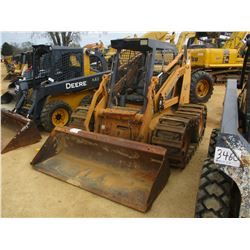 1999 CASE 90XT SKID STEER LOADER, VIN/SN:JAF0319630 - WHEELED, GP BUCKET, METAL TRACKS ON WHEELS, CA