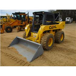GEHL 7800 SKID STEER LOADER, VIN/SN:901706 - WHEELED, GP BUCKET, CANOPY, METER READING 2,012 HOURS