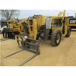 2008 CAT TL1055 TELESCOPIC FORKLIFT, VIN/SN:TBM00795 - 10,000# CAPACITY, 55' REACH, TILT CARRIAGE, O