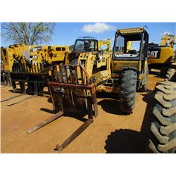 1997 CAT TH82 TELESCOPIC FORKLIFT, VIN/SN:3JN00570 - 8,000# CAPACITY, CANOPY, METER READING 4,711 HO
