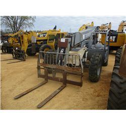 TEREX GTH842 TELESCOPIC FORKLIFT, VIN/SN:TH0806B6838 - 28' REACH, 5' FORKS, 8,000# MAX CAPACITY, CAN