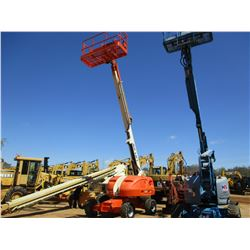 2011 JLG 400S MANLIFT, VIN/SN:0300143580 - 4X4, 1000# MAX CAPACITY, 40' PLATFORM HEIGHT, 34' REACH,