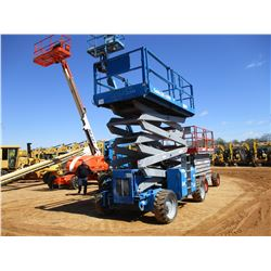 GENIE 4390 MANLIFT, VIN/SN:GS9006-43031 - 4X4, MAX PLATFORM CAP 1,500#, 43' HEIGHT, METER READING 4,