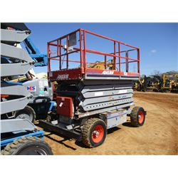 2007 SKYJACK SJ8243 SCISSOR LIFT, VIN/SN:343788 - 4X4, 43' HEIGHT, 1,000# CAP