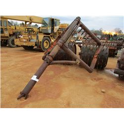 "48"" DOUBLE DRUM SHEEPFOOT ROLLER (COUNTY OWNED)"