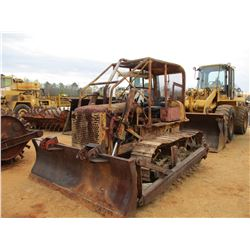 CRAWLER TRACTOR, -STRAIGHT BLADE, CANOPY, GM ENGINE (DOES NOT OPERATE)