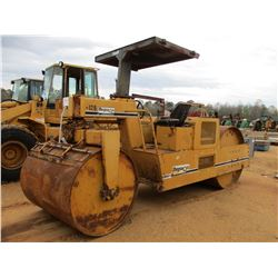 "FERGUSON 8-12B ROLLER, VIN/SN:915 - 60"" DRUMS, CANOPY, METER READING 687 HOURS (DOES NOT OPERATE)"