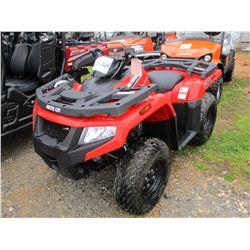 2015 ARTIC CAT ALTERRA 400 ATV VIN/SN:M00331
