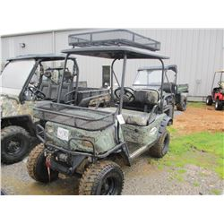 BAD BOY BUGGY, VIN/SN:B2826 - ELECTRIC, WINCH, REAR SEAT, CANOPY