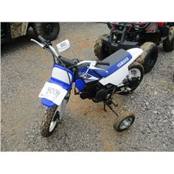 YAMAHA PW50 DIRT BIKE, VIN/SN:A010865 - W/TRAINING WHEELS