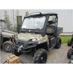 2011 POLARIS RANGER 800 EFI, VIN/SN:B4264093 - METER READING 332 HOURS
