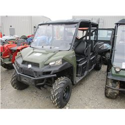 2015 POLARIS RANGER 570 EFI SIDE BY SIDE ATV, VIN/SN:3NSRUA570FG892986 - 4X4, GAS ENGINE, CREW CAB,