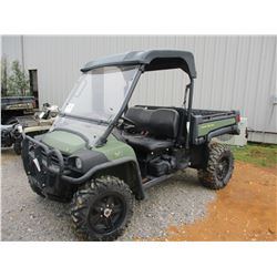 JOHN DEERE 8251 UTV, VIN/SN:024866 - 4X4, WINDSHIELD, DUMP BED, CANOPY, METER READING 937 HOURS