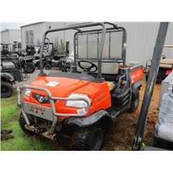 KUBOTA RTV 900 VIN/SN:KRTZ900A61066536 - 4X4, DIESEL ENGINE, WINCH, ROLL BARS, DUMP BED