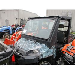 POLARIS RANGER -4X4, WINCH, CANOPY, WINDSHIELD, DUMP BED