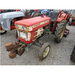 YANMAR YM1700 FARM TRACTOR, VIN/SN:2TR17-A - 3 PTH, PTO, 9.5-24 TIRES, METER READING 970 HOURS