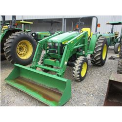2000 JOHN DEERE 4700 FARM TRACTOR, VIN/SN:170652 - 3PTH, PTO, 460 LOADER ATTACHMENT, ROLL BAR, 16.9-