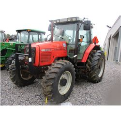 2002 MASSEY FERGUSON 6255 FARM TRACTOR, VIN/SN:L144038 - MFWD, 3 PT HITCH, PTO, LITTLE INDUSTRY HD 4