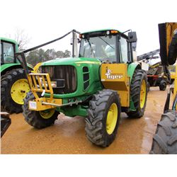2009 JOHN DEERE 7130 FARM TRACTOR, VIN/SN:567931 - MFWD, 3 PTH, PTO, 2 REMOTES, SABERTOOTH TIGER SID