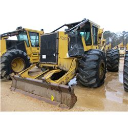 2010 TIGERCAT 630D SKIDDER, VIN/SN:6303034 - GRAPPLE, DUAL ARCH, WINCH, ECAB W/AIR, 30.5L-32 TIRES,