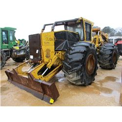 2001 TIGERCAT 630B SKIDDER, VIN/SN:6301353 - GRAPPLE, DUAL ARCH, WINCH, ECAB W/AIR, 35.5-32 TIRES, M