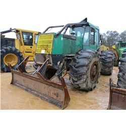 2004 TIMBERJACK 660D SKIDDER, VIN/SN:1326 - GRPALLE, DUAL ARCH, WINCH, ECAB, 30.5L-32 TIRES, METER R