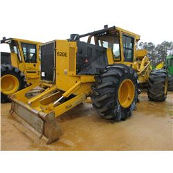 2015 TIGERCAT 620E SKIDDER, VIN/SN:6206623 - GRAPPLE, DUAL ARCH, WINCH, ECAB W/AIKR, 30.5L-32 TIRES,