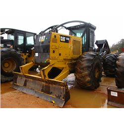 2015 CAT 535D SKIDDER, VIN/SN:MTP00186 - GRAPPLE, DUAL ARCH, WINCH, ECAB W/AIR, 30.5L-32 TIRES, METE