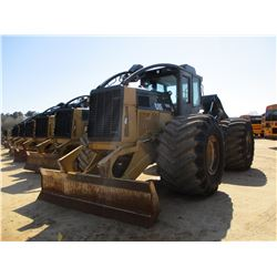 2014 CAT 525C SKIDDER, VIN/SN:52501918 - GRAPPLE, DUAL ARCH, WINCH, ECAB W/AIR, 73X44.00-32 TIRES, M