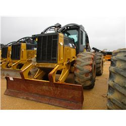 2011 CAT 525C SKIDDER, VIN/SN:52501346 - GRAPPLE, DUAL ARCH, WINCH, ECAB W/AIR, 30.5-32 TIRES, METER